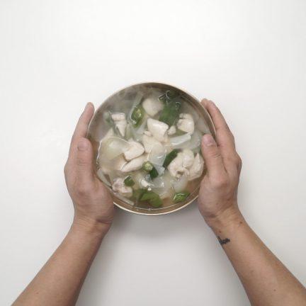 초 건강식 닭 안심 맑은탕